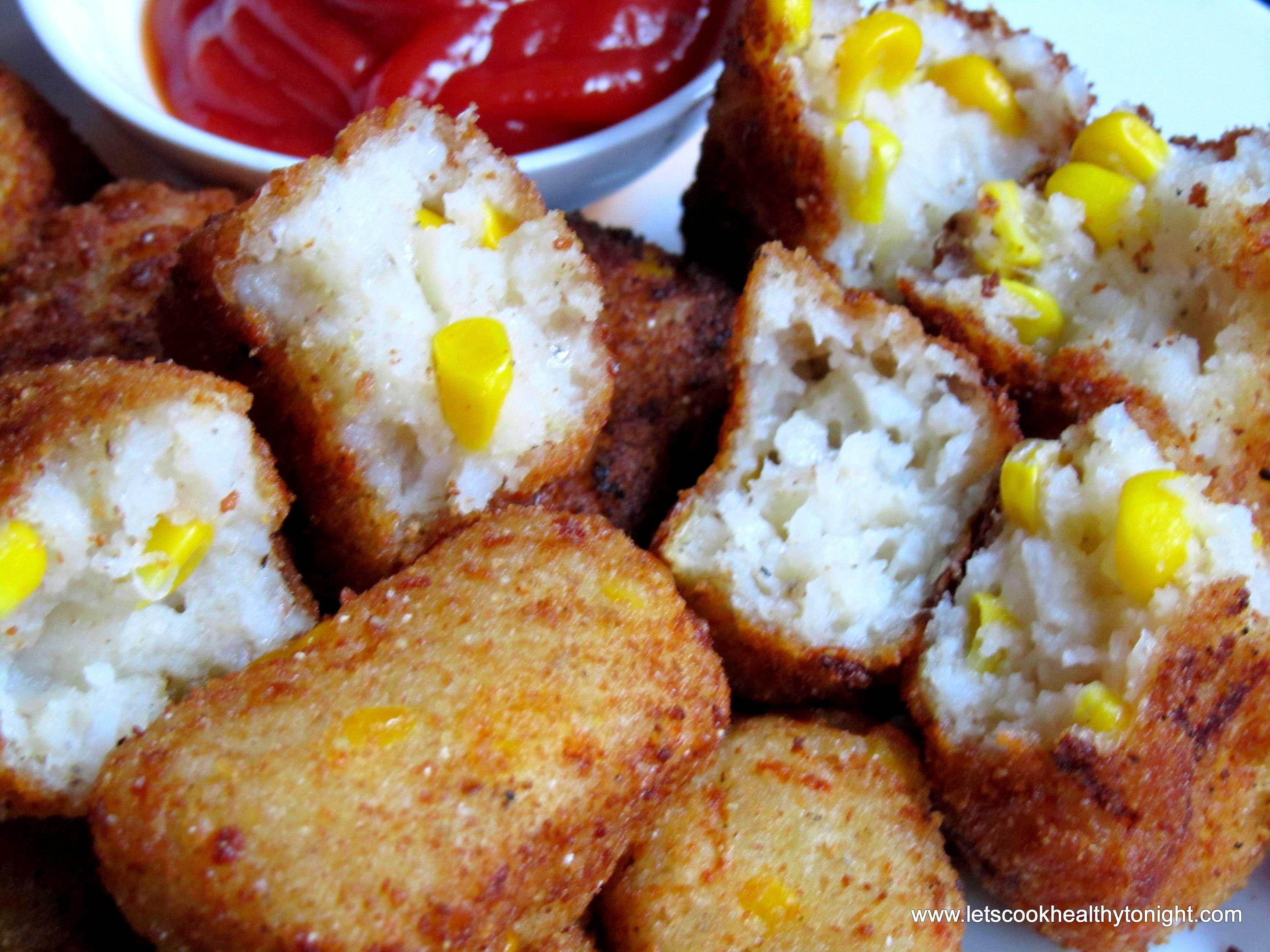 CORN AND SOOJI NUGGETS Favorite snack, Snacks, Healthy
