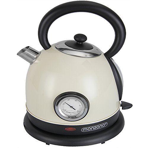Wasserkocher Teekocher Teekessel Retro Design Edel | Amazon ...