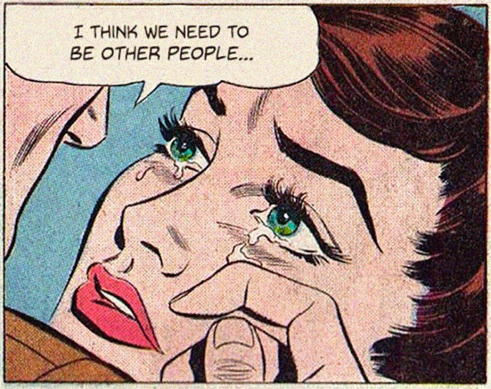 This Isnt Happiness: Mid-Century Romance Comic Books Updated Into Tales Of Shallow Lives And Empty Sex