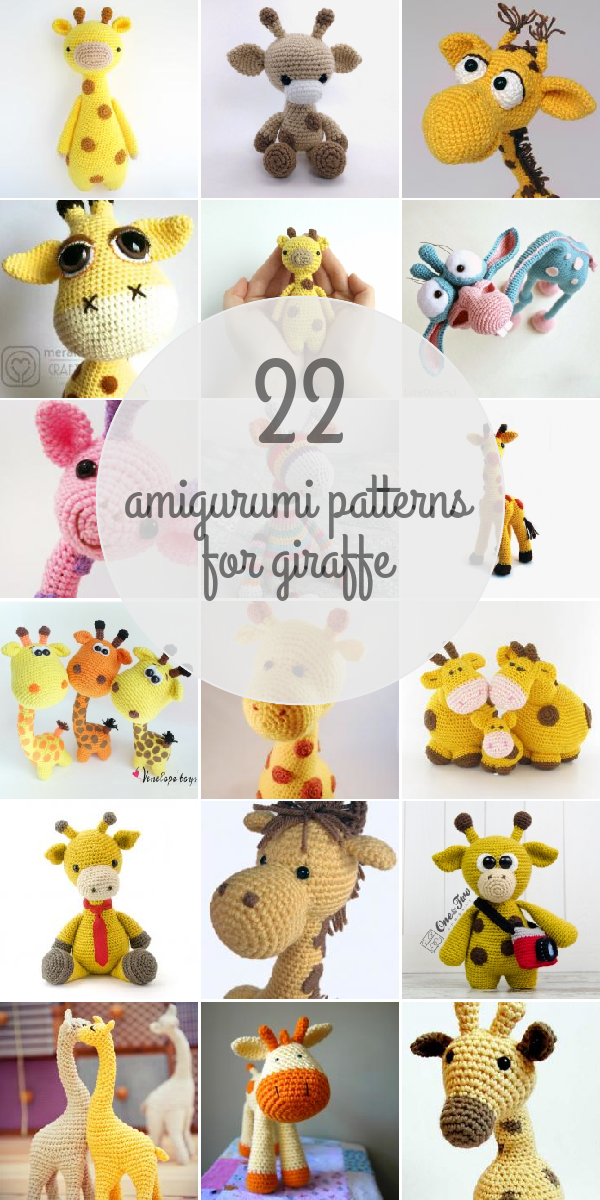 Crochet pattern Giraffe April crochet amigurumi giraffe, English ... | 1200x600
