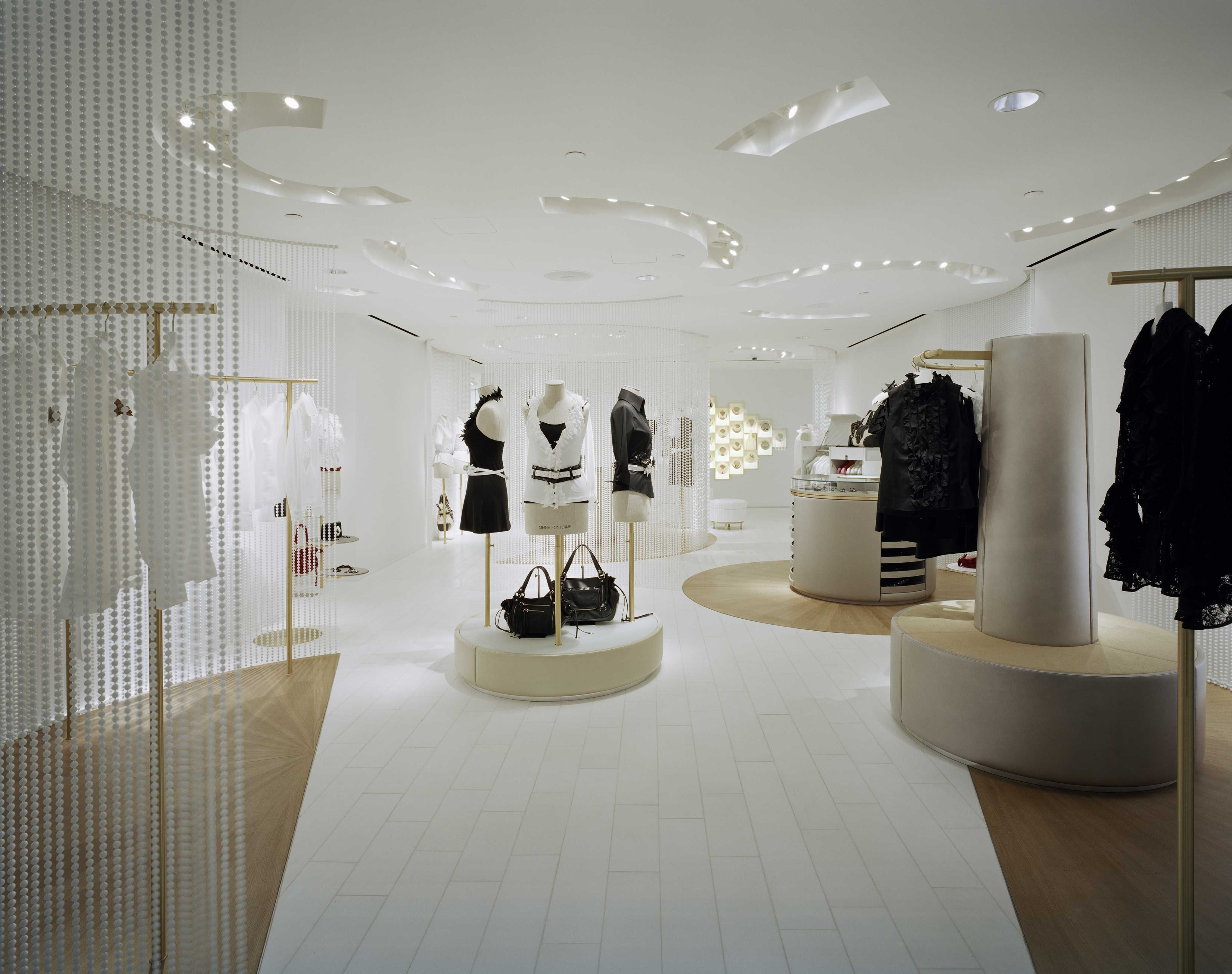 Boutiques, Shop Design Anne Fontaine New York USA | Made by James ...