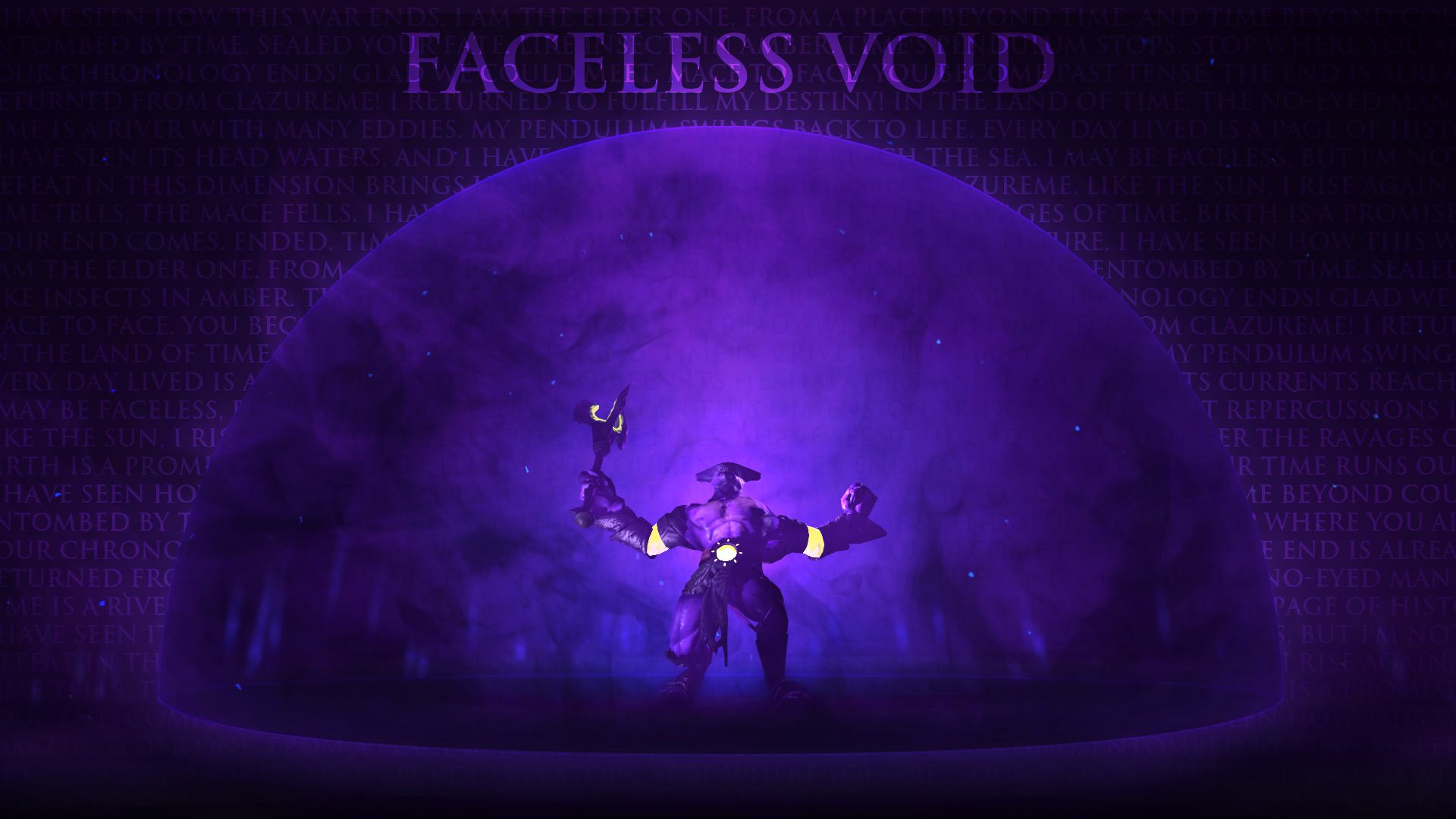 Dota 2 Faceless Void Background Click Wallpapers Dota 2 Wallpaper Background