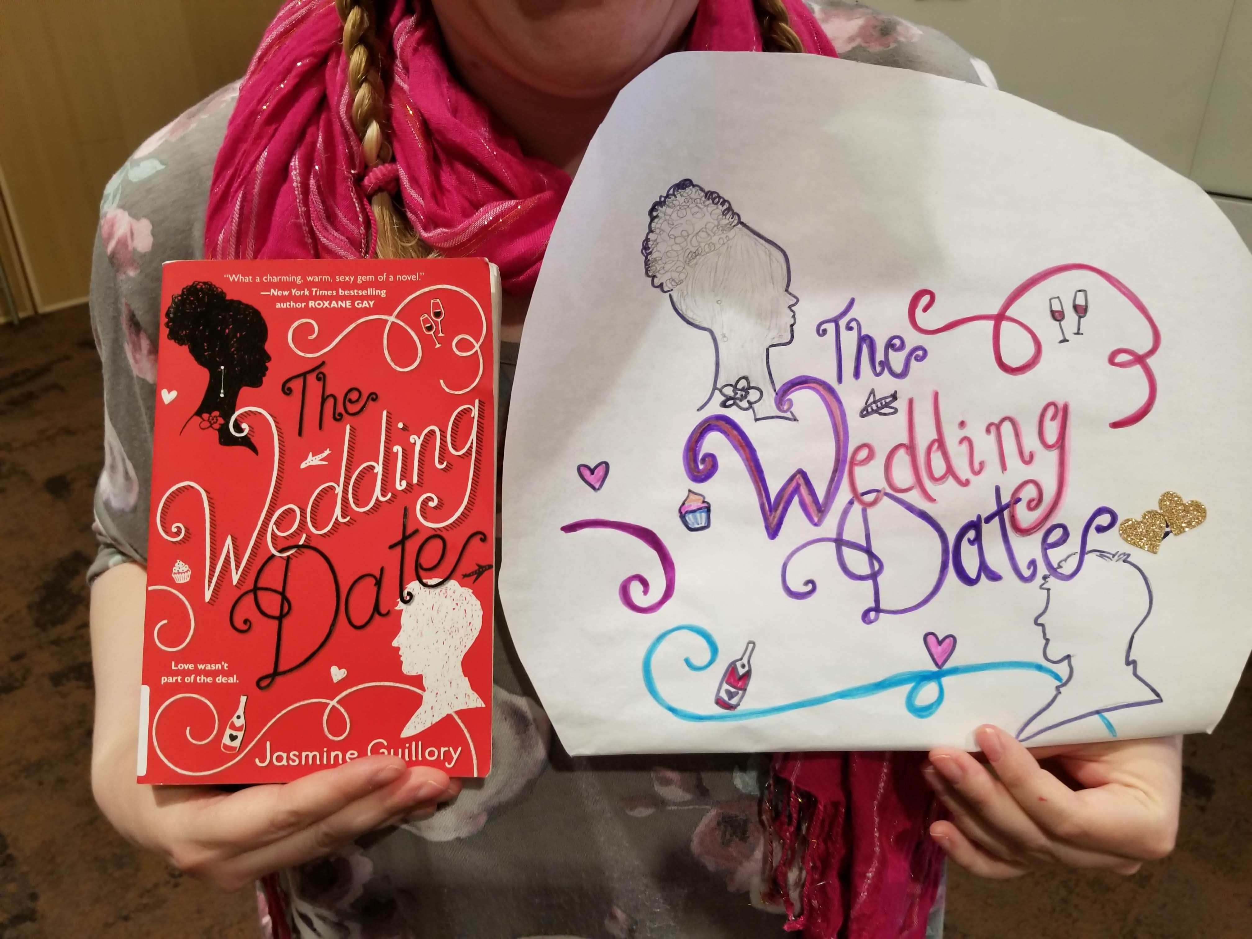 The Wedding Date by Jasmine Guillory Book to Art project