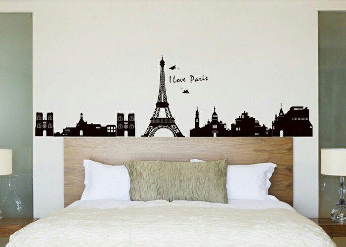 Pin By Kriss On Decoracion Paris Room Decor Wall Vinyl Decor Home Decor