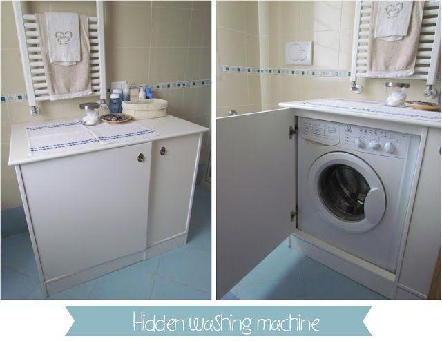Hidden Washing Machine And Countertop Home Ideas Home