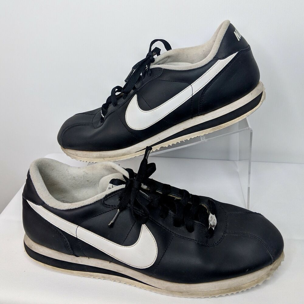 sports shoes ebd9a 8c928 Nike Classic Cortez Basic Leather Mens 12 Running Dad shoes 72 throwback  316418  Nike  RunningShoes