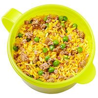 Photo of Josh Capon's Brown Spanish Rice with Ground Beef