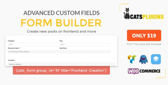 ACF Form Builder - Multipurpose Frontend Form Submission - https ...