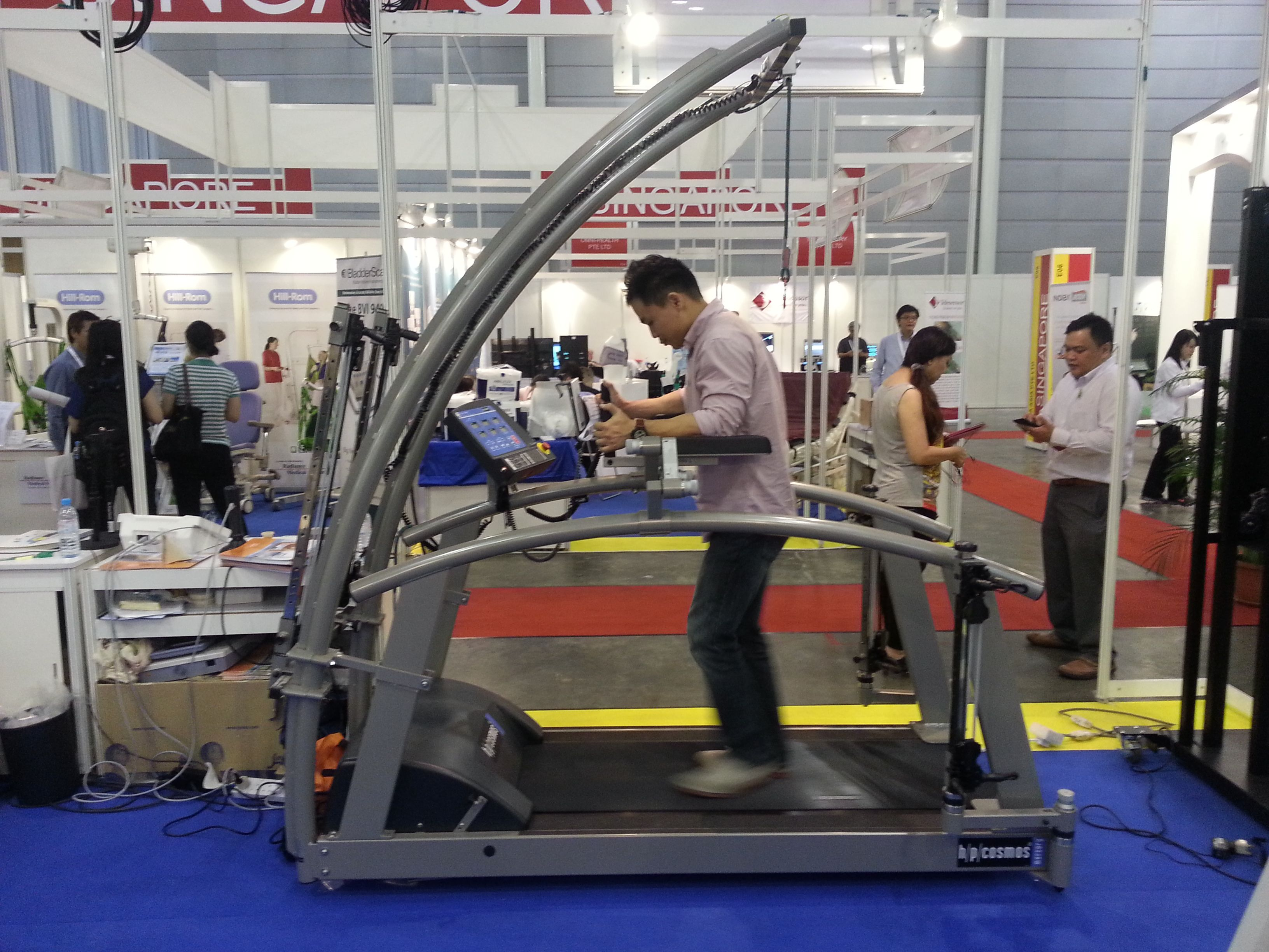 robowalk has been on display at Rehab Tech Asia exhibition in