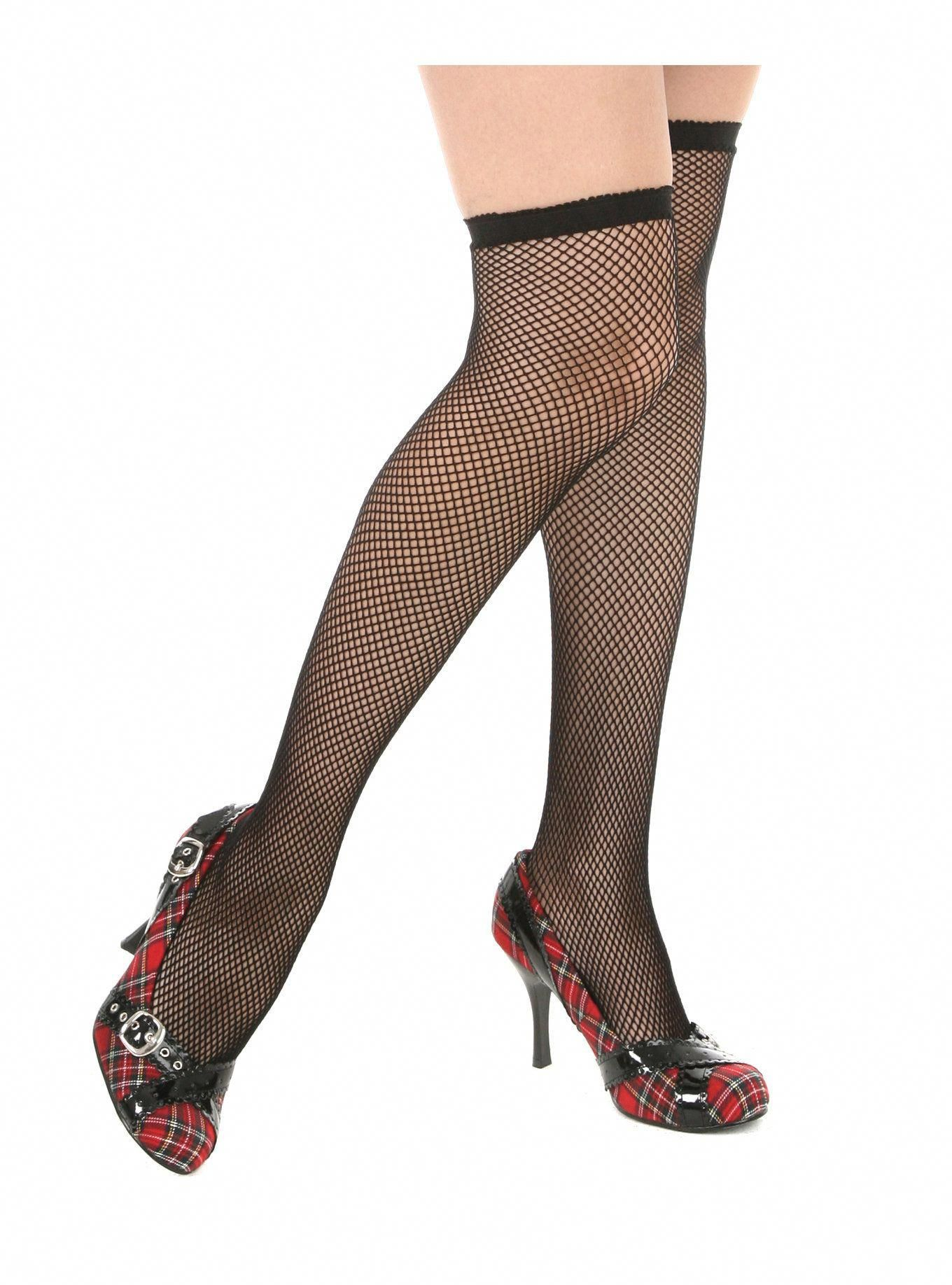 d9209a43fc7a5 Fashion designers and other stories from Greece ... #Blackdressoutfit Thigh  High Fishnet Stockings