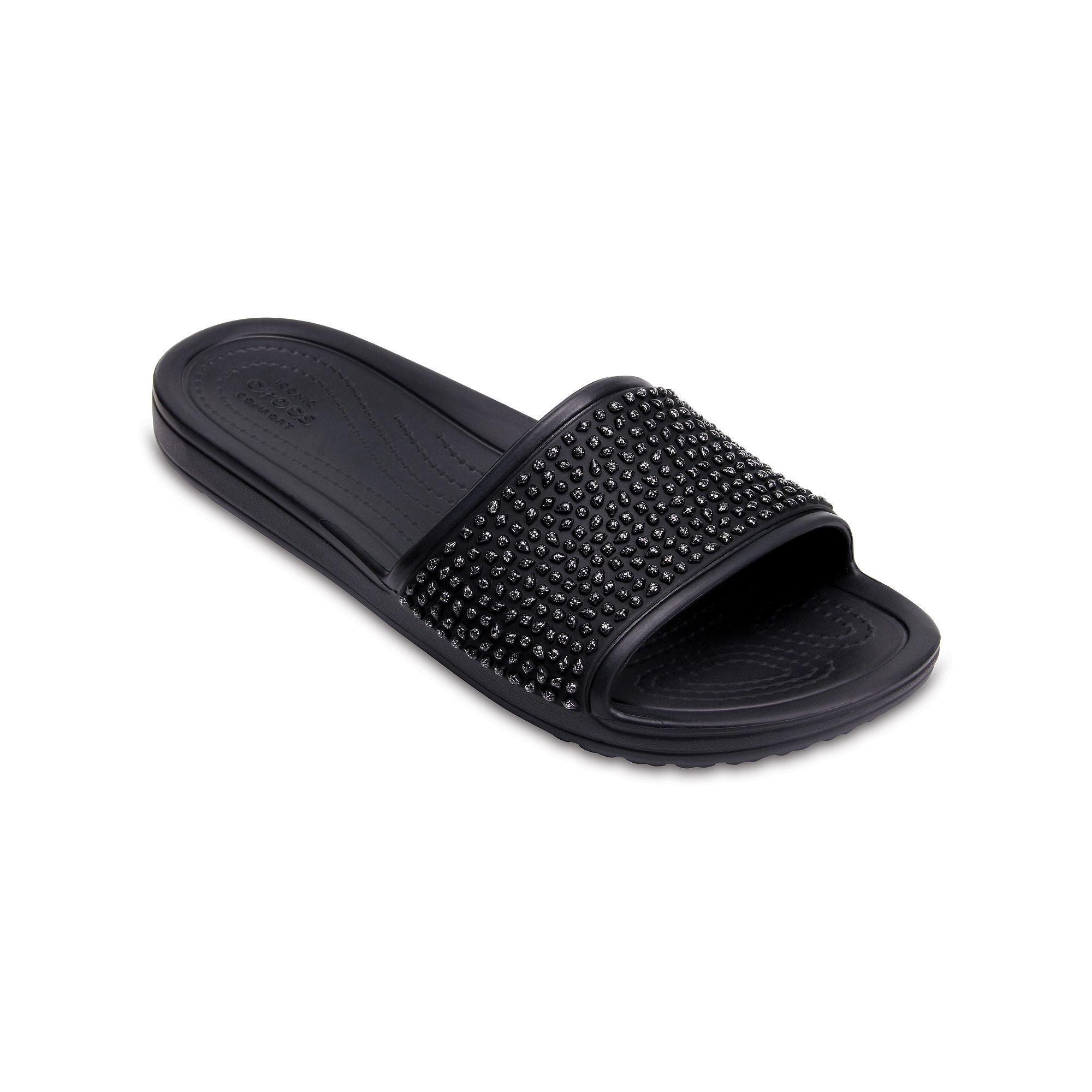 6301b37d9cdf9 Crocs Sloane Embellished Women's Slide Sandals | Products | Crocs ...
