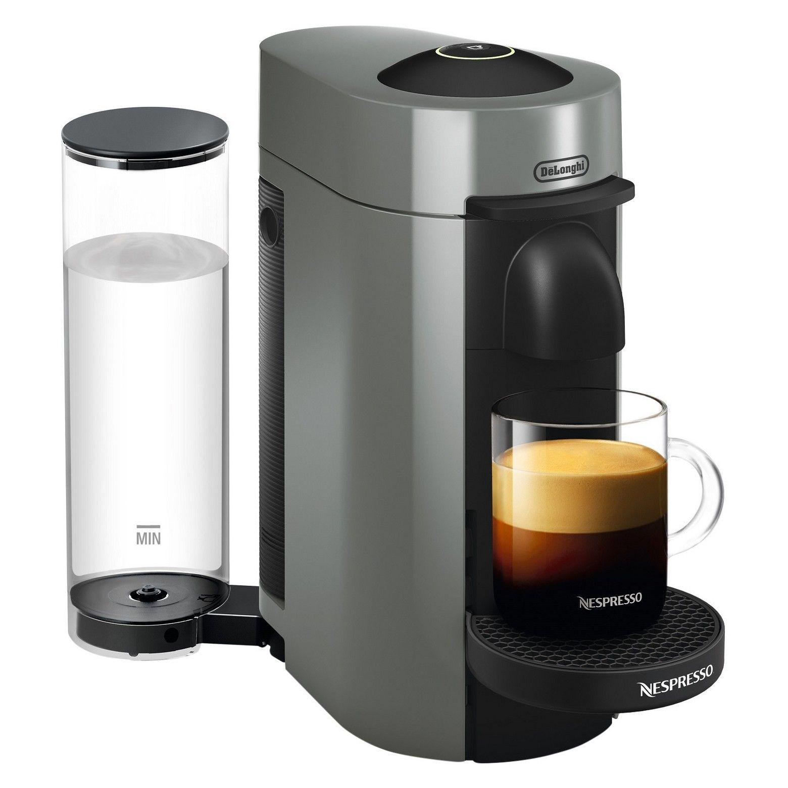 Nespresso VertuoPlus Coffee and Espresso Machine by De