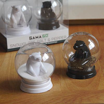 GAMAGO Snowglobe Salt & Pepper $12