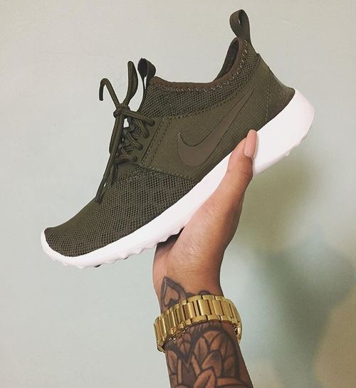 nike zapatillas verde