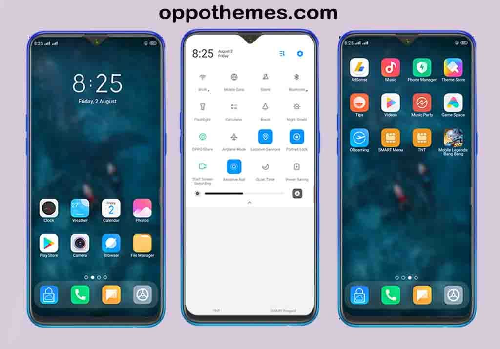Miui Theme For Oppo Color Os Smartphone Oppothemes Com Themes For Mobile Phone Themes Smartphone