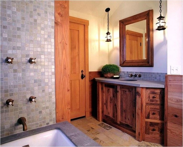 country rustic bathroom ideas wood 40 perfect country rustic bathrooms ideas that are truly spectacular bathroomideas rusticbathrooms bathroomdesign
