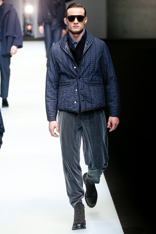 Giorgio Armani Fall 2018 Menswear Fashion Show in 2019 | M