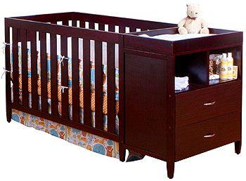 BSF Baby Austin Convertible Crib U0027n Changer Combo   Cherry   BSF Baby    Babies