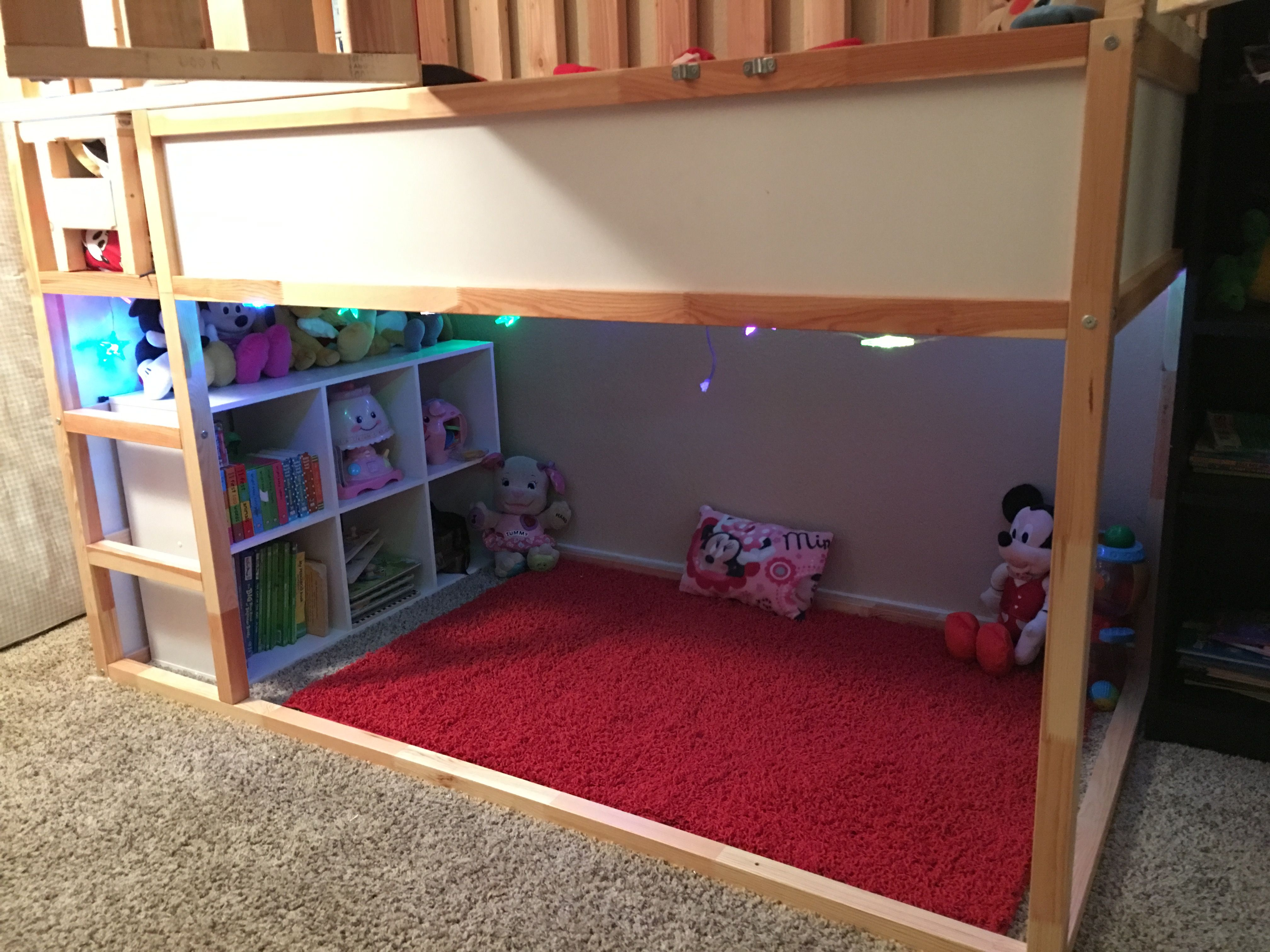 DIY Special Needs Bed Under $300 IKEA kura bed with additional ...