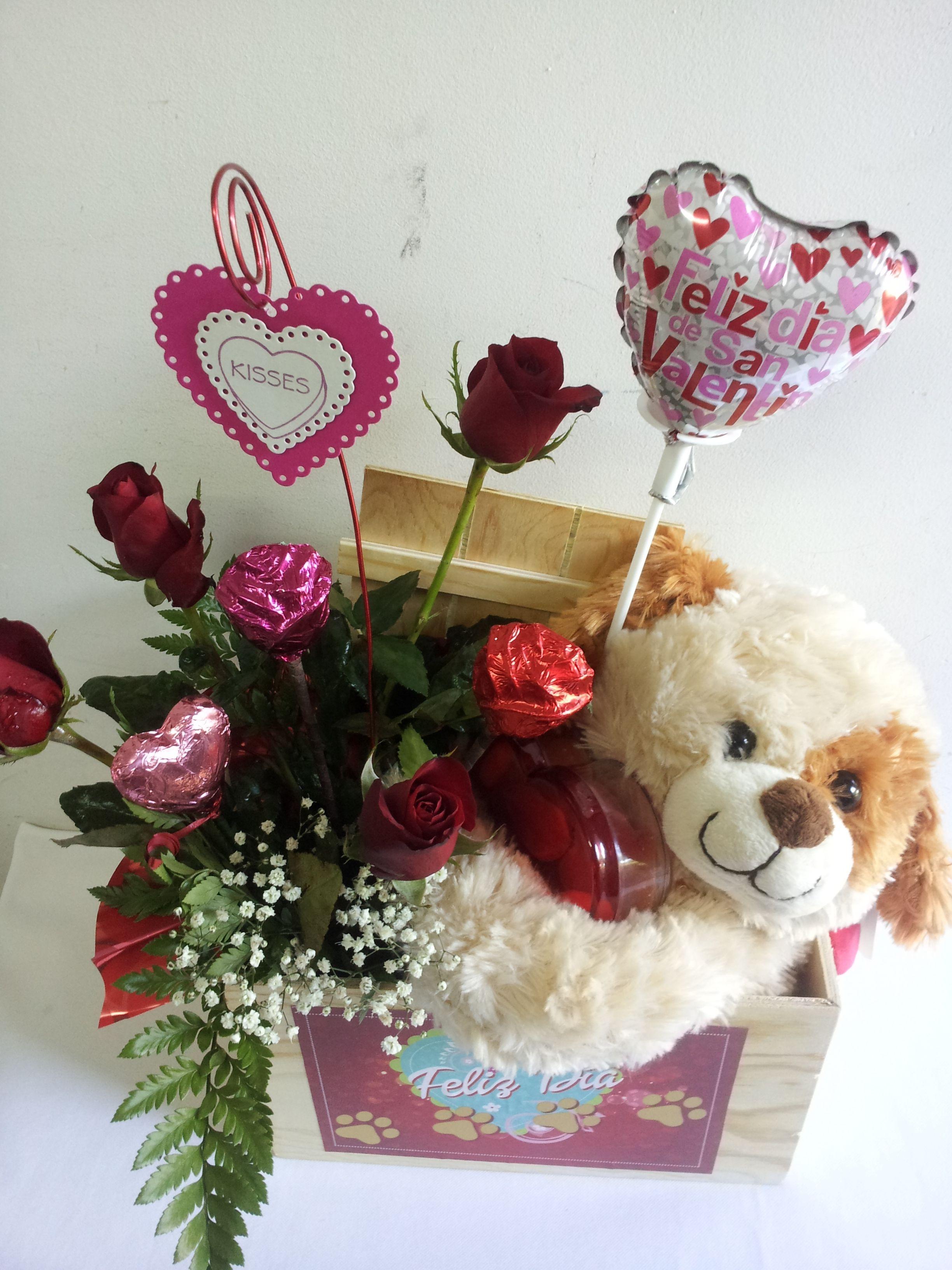Febrero Amistad Caja El De 14 14 Febrero Dia Madera La Amor Y Arreglos De Para De Del En