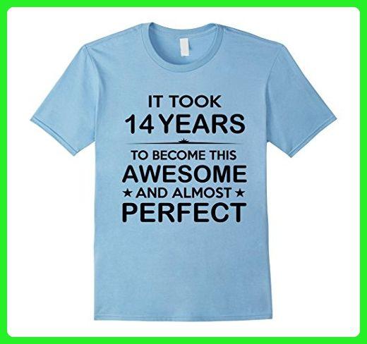 Mens Fourteen 14 Year Old 14th Birthday Gift Ideas For Boy Girl Medium Baby Blue