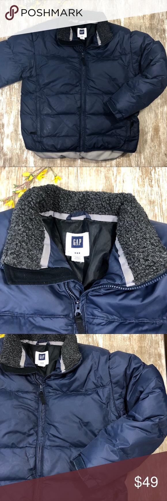 Gap Mens Down Insulated Puffer Winter Coat Winter Coat Clothes Design Winter Puffer Jackets [ 1740 x 580 Pixel ]