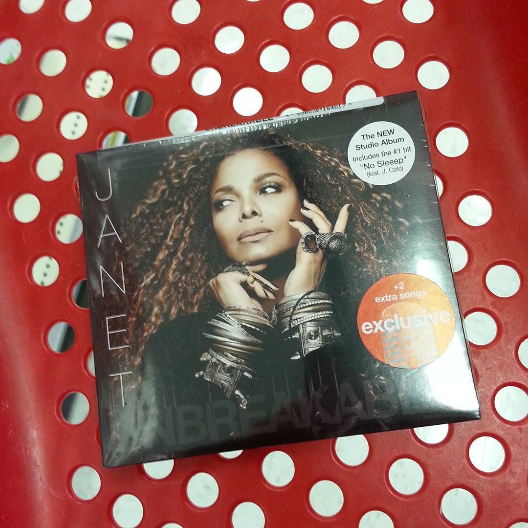 #unbreakable day at @target with @janetjackson. Love you JJ.