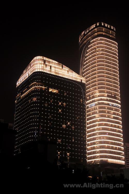 Sofitel Hotel Hotel Facade Light Architecture Facade Lighting