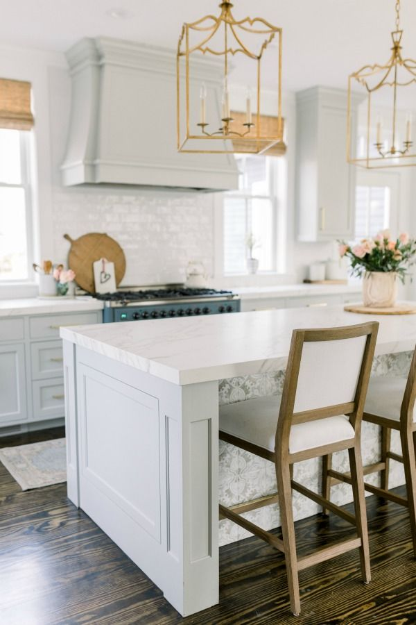 timeless tranquil white grey kitchen tour gray white kitchen white farmhouse kitchens on farmhouse kitchen grey cabinets id=50219