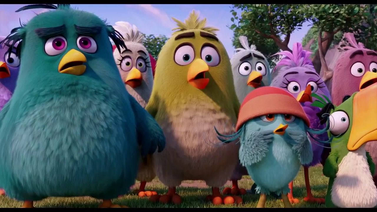 Angry Birds Movie Full Battle Scene Part 2 Angry Birds Movie Angry Birds Birds