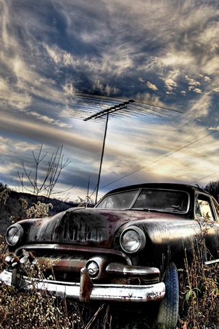 Rusty Car Avec Images Arriere Plan Arriere Plans Iphone Fond