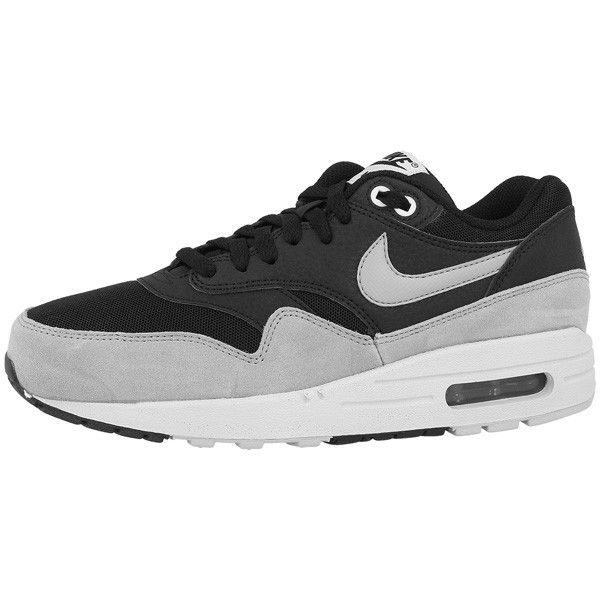 new products d2ffb a5fa7 Nike Air Max 1 Essential Women Schuhe black-dove grey-pure platinum -  Trendalarm24