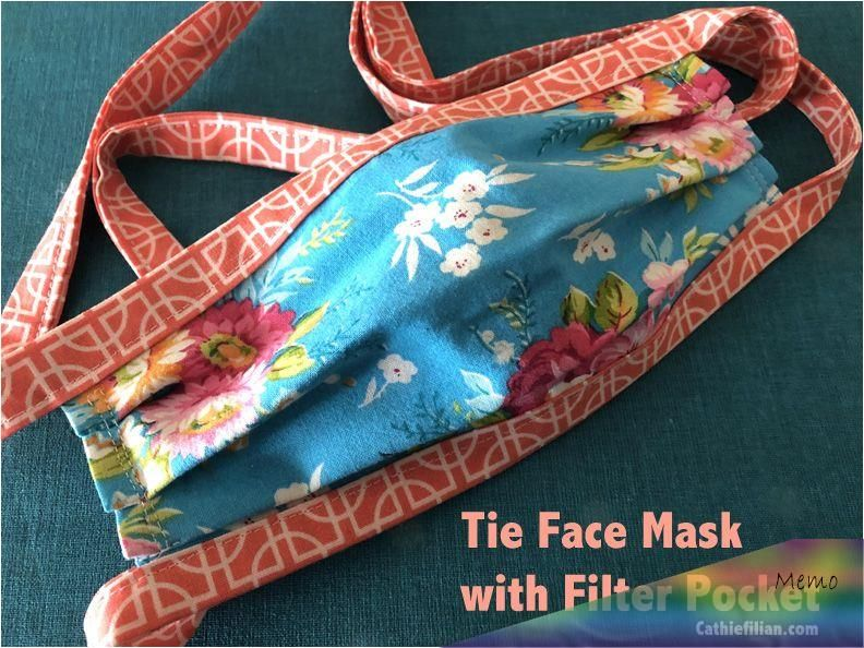 Photo of Hello! Today, I'm sharing a pattern I made for creating a face mask with …