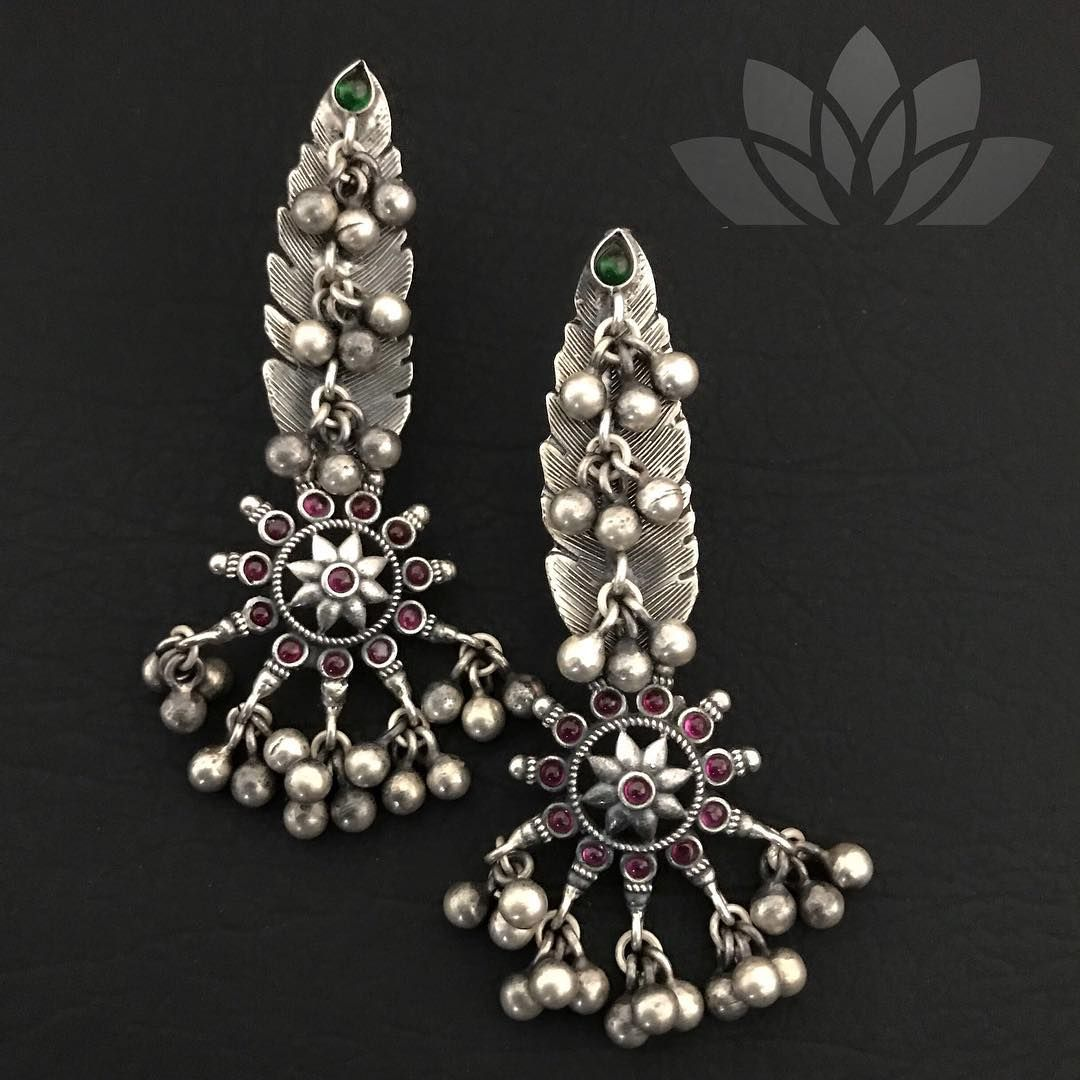 Pin By South India Jewels On Silver Jewellery In 2019