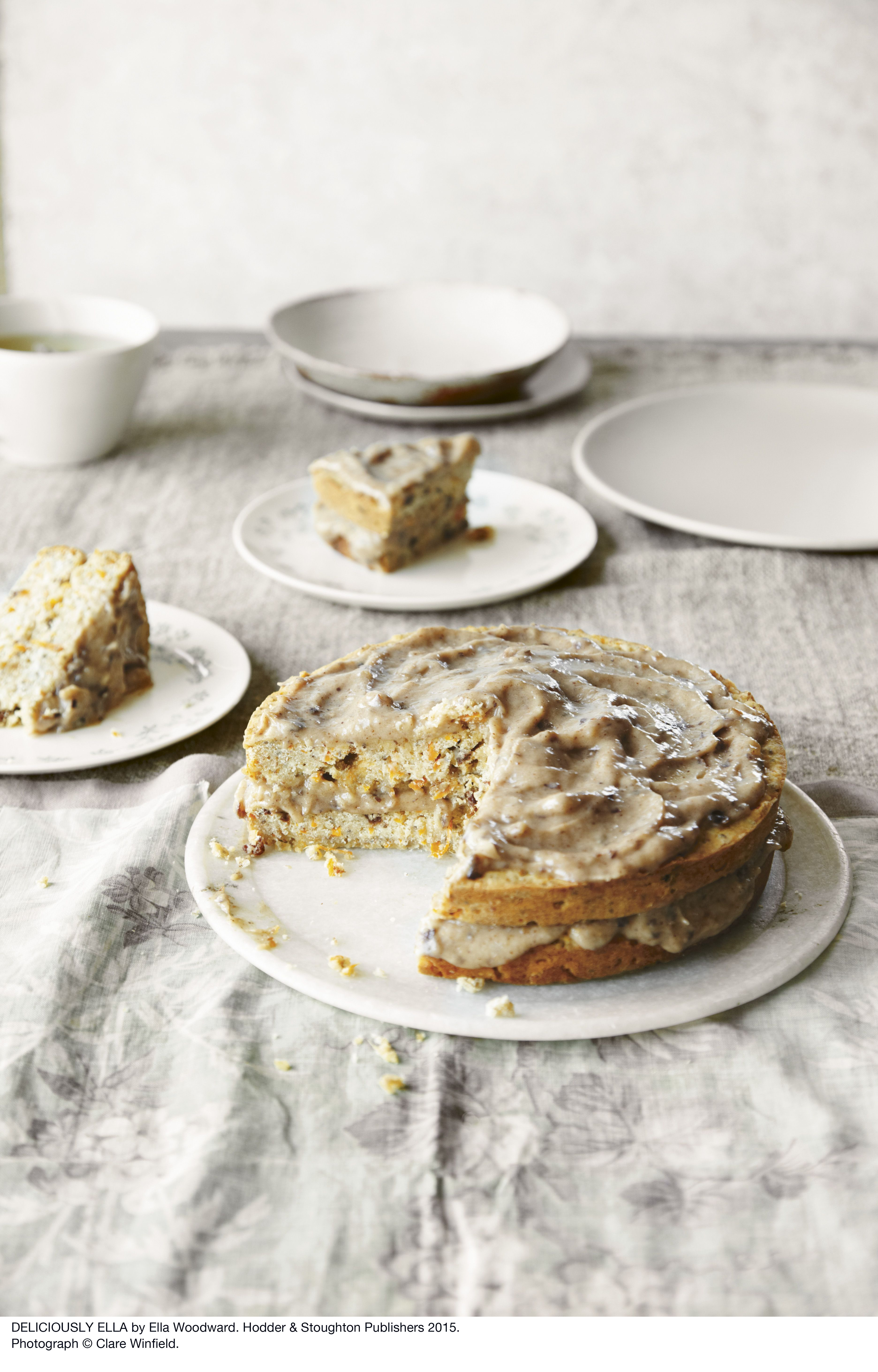 Deliciously Ella S Classic Carrot Cake Time To Eat Vegan
