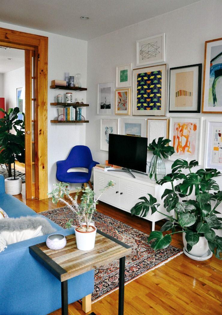 C mo integrar el televisor en el sal n la bici azul for Integrar escritorio en salon