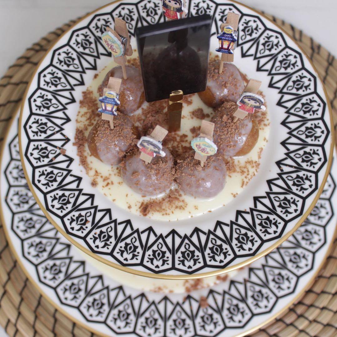 Noor Alghannam On Instagram كرات الدايجستف بزبدة فول السوداني Kitchennoor ٣ كوب بسكوت دايجستف مطحون ملعقتين زبدة فول Dessert Recipes Desserts Food