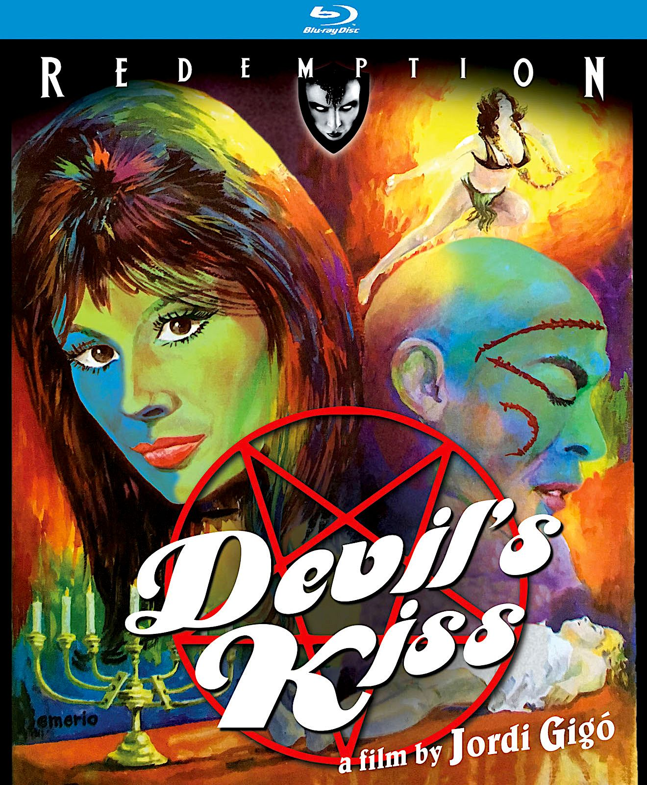 DEVIL'S KISS BLU-RAY SPINE #57 (KINO LORBER / REDEMPTION