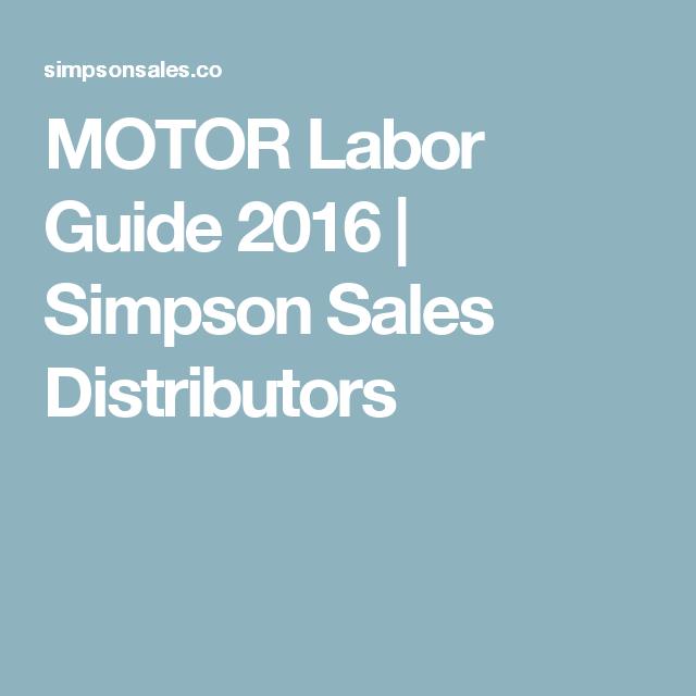 chilton labor guide 2014