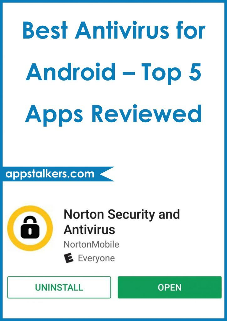 Best Antivirus for Android Top 5 Apps Reviewed App