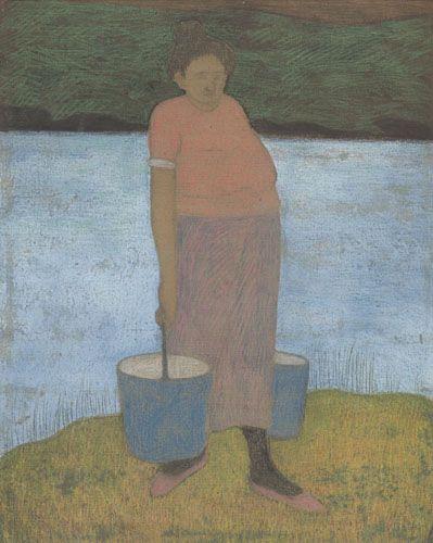 Léon Spilliaert : La porteuse d'eau