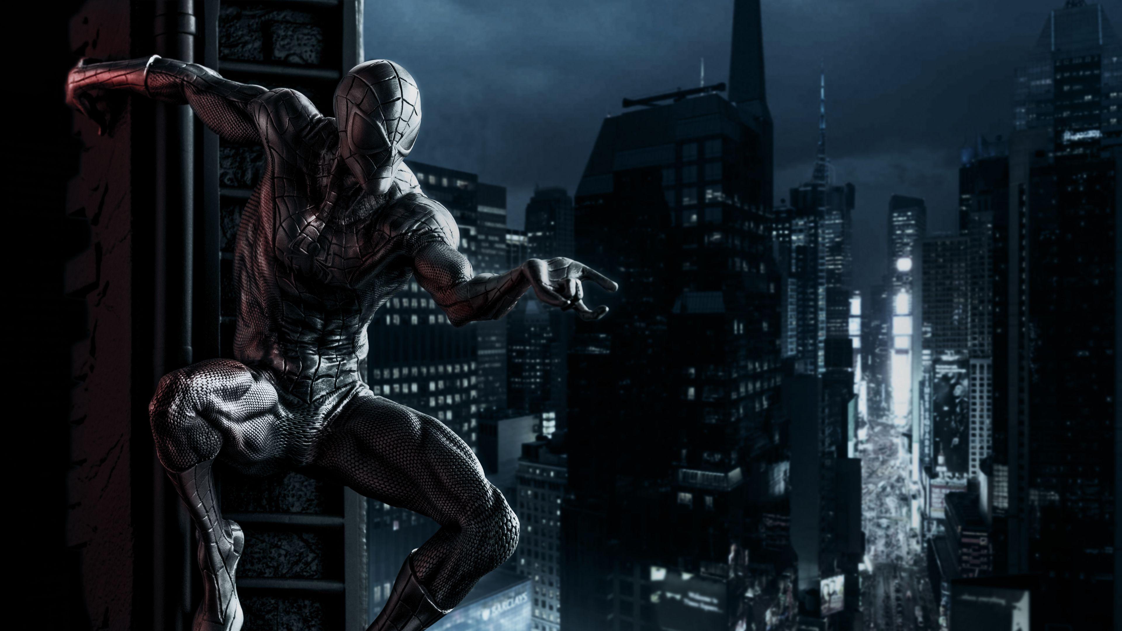 Black Spiderman 4k Superheroes Wallpapers Spiderman Wallpapers Hd Wallpapers Digital Art Wallpapers Artwork Wallpap Black Spiderman Spiderman Art Wallpaper