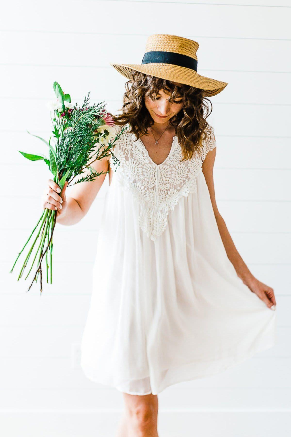 Lacey Chiffon Beach Dress S5X Plus size beach dresses