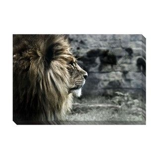 King of the Lions Oversized Gallery Wrapped Canvas | Overstock.com Shopping - The Best Deals on Canvas