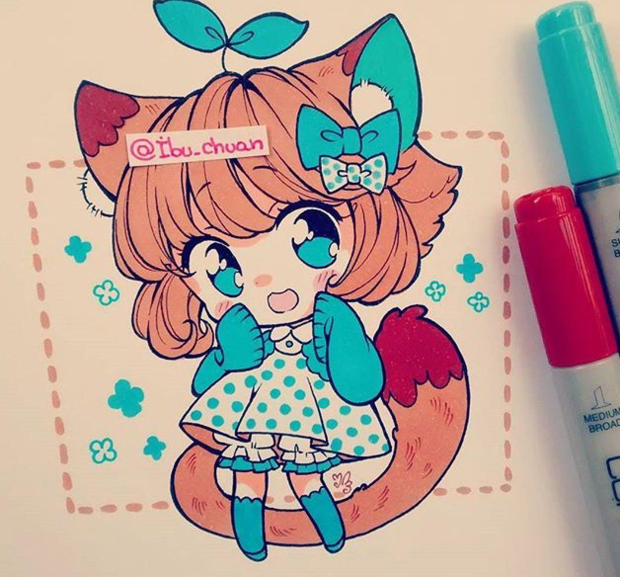 ibu_chuan [Instagram] | Cute chibis | Pinterest | Chibi, Instagram ...