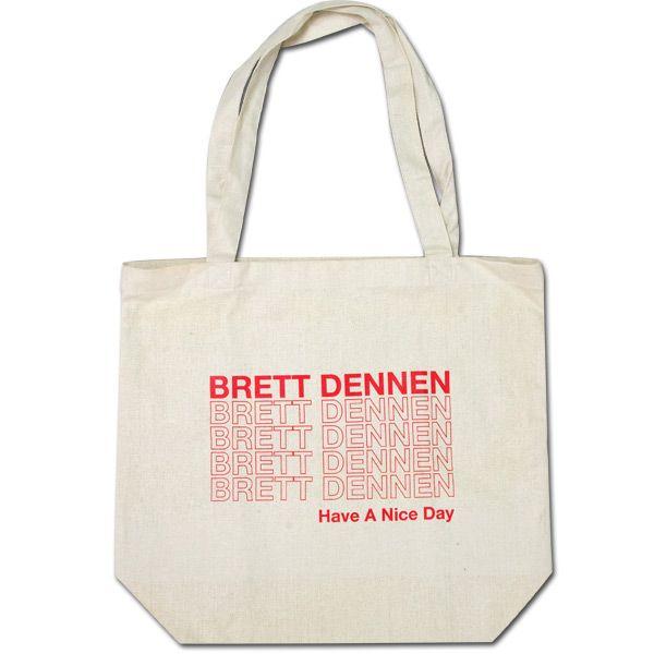 Brett Dennen tote bag $15.00