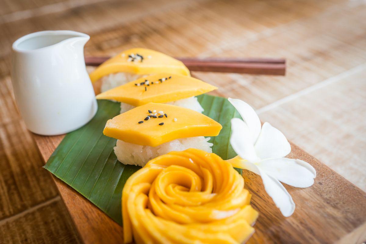Mango Sticky Rice   Tree house, Roots restaurant, Luxury ...
