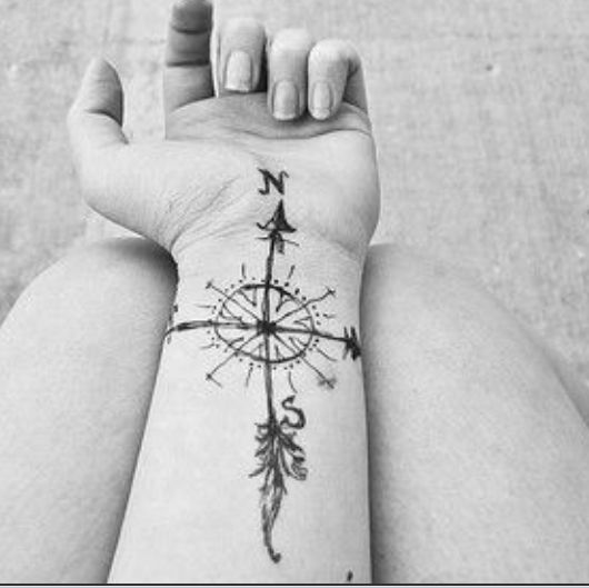 Compass Rose Tattoo Compass Tattoo Compass Rose Tattoo Neck Tattoo