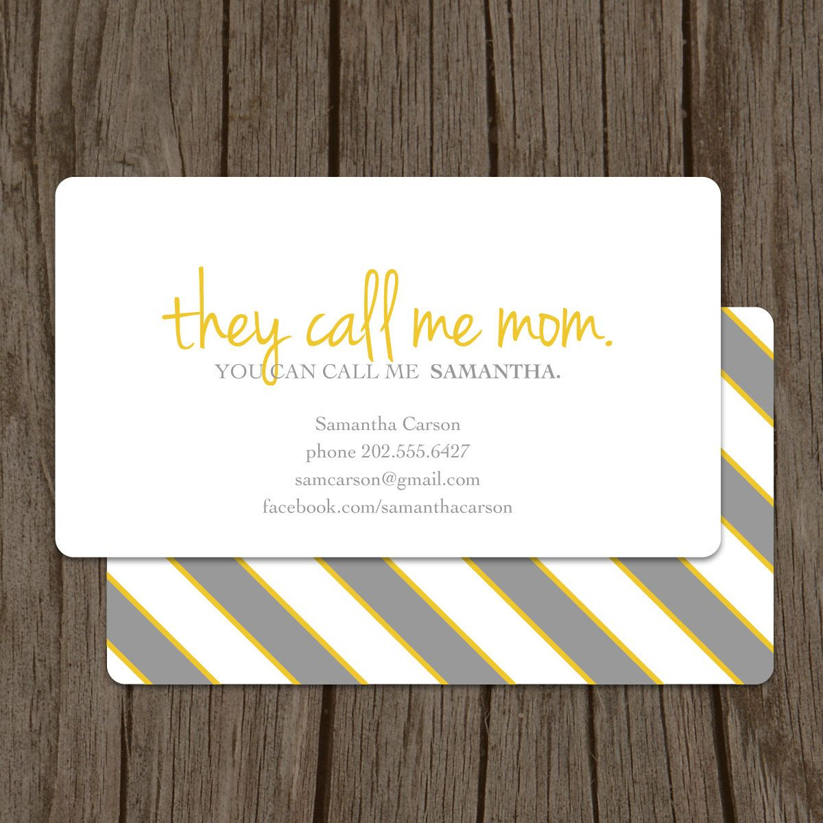 They call me mom mommy card so cute design pinterest they call me mom business card calling card mommy card contact card mom business cards family calling cards family business cards colourmoves