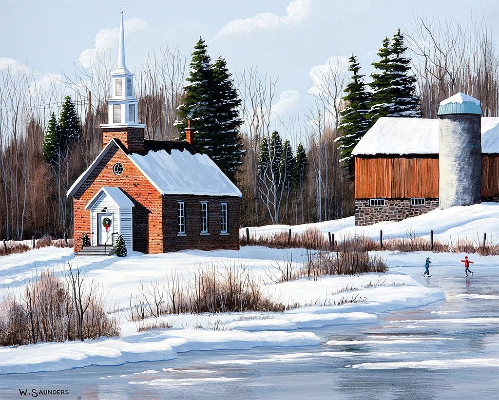 Bill Saunders / Country Churches / December 2015 Country
